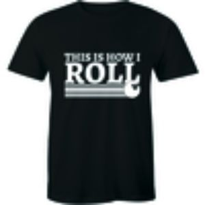 This Is How I Roll Funny Bowling T-shirt Tee